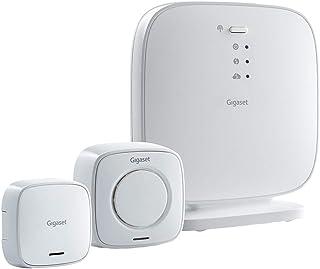 Gigaset Elements Security Pack Bluetooth Sistema de Seguridad Inteligente para el hogar Elements Security Pack, Blanco, 1880-1900, Amazon Alexa Philips Hue, Alámbrico, Bluetooth, 128-bit