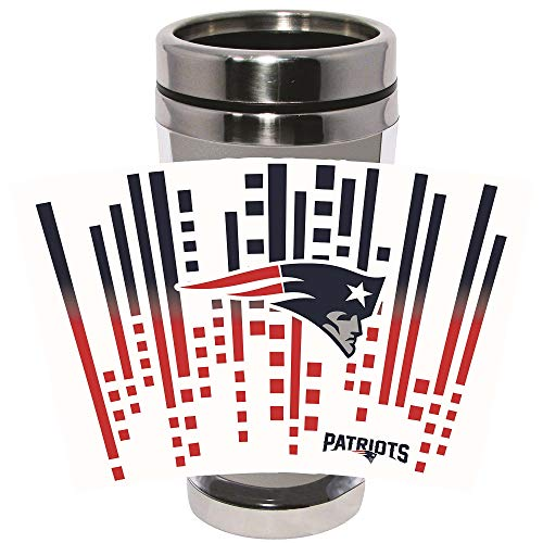 New England Patriots koffiemok/koffie to go beker ** Roestvrij staal Tumbler **