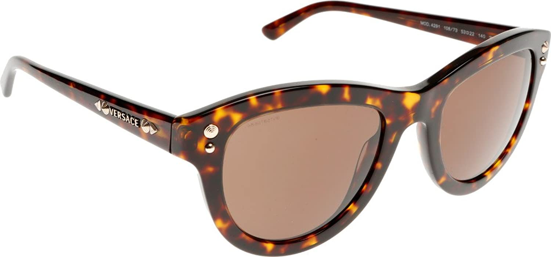 Versace Women 1504934001 Tortoise Brown Sunglasses 53mm