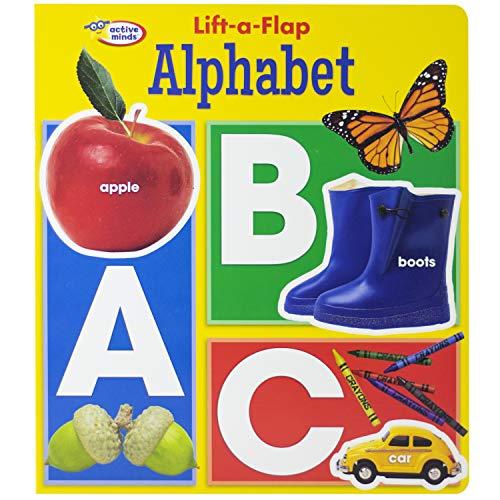 Active Minds - Lift a Flap Board Book - Alphabet