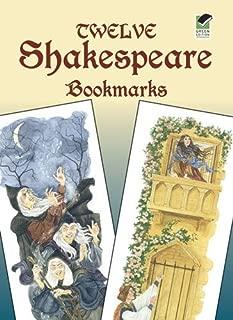 Twelve Shakespeare Bookmarks (Dover Bookmarks) by Steven James Petruccio (31-Dec-2004) Paperback