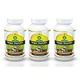 Deals4Good Sugar Knocker Ayurvedic Medicine for Diabetes, 100% Natural Herbal Product Without Side Effect (270 Veg Capsules for 3 Months) (Pack of 3)
