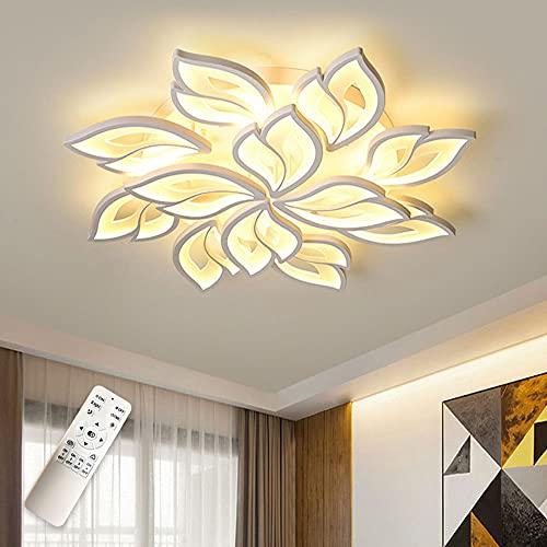 LED Lámpara de Techo, Moderno Pétalos Focos De Techo con Mando A Distancia Regulable Habitación De Los Niños Luz De...