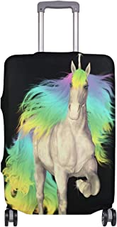 Mydaily Unicorn Luggage Cover Fits 18-32 Inch Suitcase Spandex Travel Baggage Protector