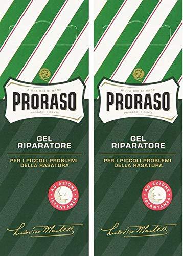 Proraso Gel Riparatore Après Rasage - lot de 2 x 10 ml
