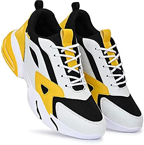 Men s Lace up Multicolour Walking Shoes for Men Fashion Lightweight Breathable Running Shoes Sport Athletic Tennis Shoes AR1P