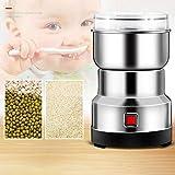 Dorrisi Molinillo de Grano eléctrico 550W Máquina de Polvo de Acero Inoxidable Cereales para el hogar eléctrico Molino de Grano Máquina de Polvo de Molinillo para Semillas de Especias