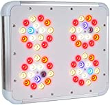 LEDTonic Z5 - 118W LED Grow Light Veg/Bloom - Full Spectrum Quiet, Cool Lamp for Indoor Growing - Perfect for M Tent and 1-4 Large Plants - 630 PPFD at 18' - 3-Year 100% Diode Warr, Lifetime Supp