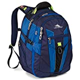High Sierra XBT-Business Laptop Backpack, True Navy/Royal Cobalt/Chartreuse, One Size