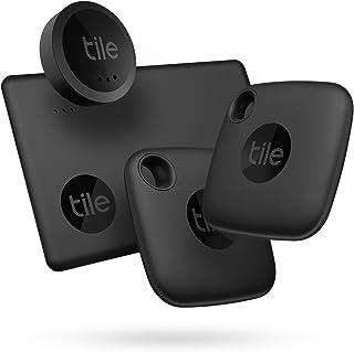 Tile Essentials (2022) Bluetooth Item Finder, 4-pack (2 Mates, 1 Sticker, 1 Slim), Incl. Zoekopdracht Met Behulp van de Ge...
