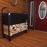 ShelterLogic Adjustable Outdoor Firewood Rack