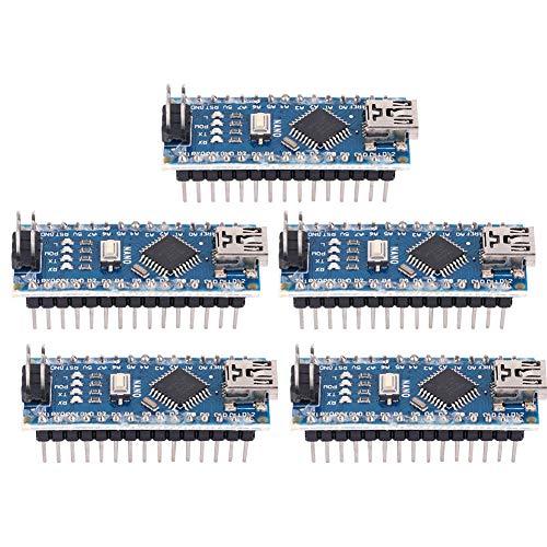 Micro Controller Board Module - 5pcs Nano V3.0 ATmega328P Micro Controller Board Module 5V 16M for Arduino