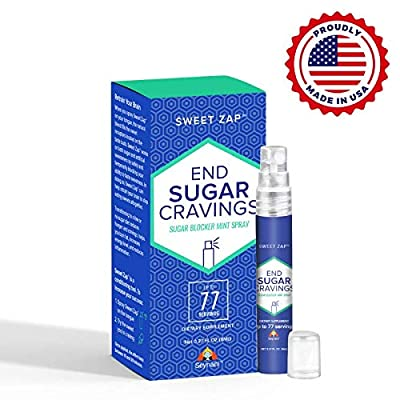 Sweet Zap by Seynani-Sugar Blocker Spray-Stop Sugar Cravings - Avoid Overeating Sweets - A Great Weight Loss Supplement - Perfect for Portion Control -