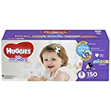 Huggies Little Movers Plus Diapers Size 5, 150 Count
