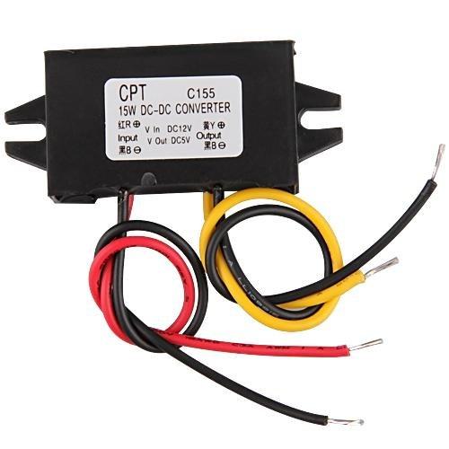 LED Transformateur Transfo Convertisseur Voiture DC 12V Vers 5V