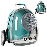 Clear Bubble Cat Carrier Backpack, Space Capsule Pet Carrier Backpack for Large Cats and Small Dogs, Cat Carrying Backpack for Travel and Hiking