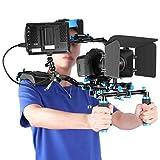 """Neewer Kit di Produzioni Film Movie Video con Monitor da Campo F100 7"""" Schermo IPS(Input 4K) Gran Morsa con Braccetto da Doppia Sfera per Camere Reflex Videocamere Canon Nikon Sony"""