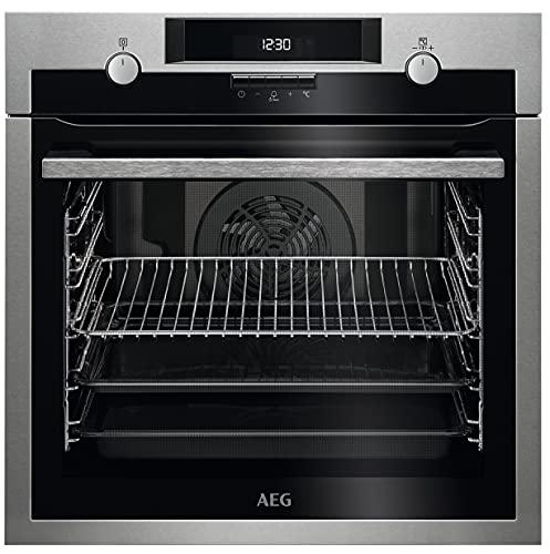 AEGBPE531222M Forno Multifunzione SurroundCook Pirolitico, Capacità 72 L, Potenza 2990 W, Inox