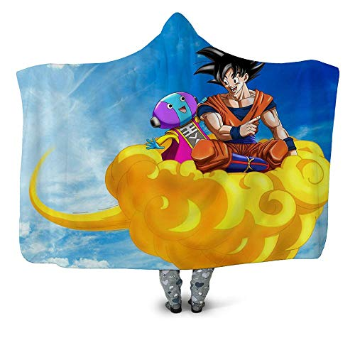 Tagesdecken Anime & Dragon Ball 3D Printed Sherpa Decke Couch Bettbezug Travel Bettwäsche Outlet Samtplüsch Werfen Fleece Blanket