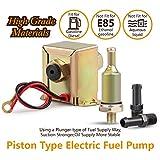 Pompa di iniezione del carburante in linea, universale, a bassa pressione, elettrica, per diesel e benzina, 12 V, 2,5-4 psi EP12, in metallo
