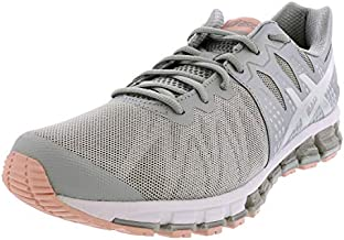 ASICS Women's Gel-Quantum 180 TR Training Shoes, 8M, MID Grey/Silver/Frosted Rose