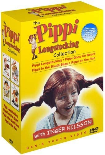 The Pippi Longstocking Collection (Pippi Longstocking / Pippi Goes on Board / Pippi in the South Seas / Pippi on the Run)