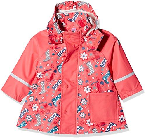 Sterntaler Sterntaler Baby-Mädchen ungefüttert Regenmäntel, Rot (Coralle 736), (Size:92)