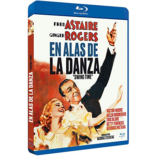 En Alas de la Danza BDr 1936 Swing Time [Blu-ray]