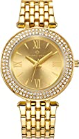 Timothy Stone Women's Burst-Stainless Gold-Tone Watch