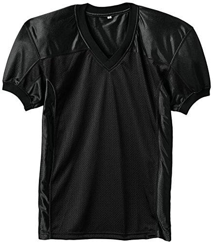 Full Force Herren Trikot Profi Football Shirt Gamejersey BK, schwarz, M, FF0208090210
