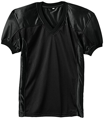 Full Force Herren Trikot Profi Football Shirt Gamejersey BK, schwarz, M, FF0208090210