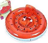 Anillo de la natación juguete flotante a prueba de fugas cisne blanco animal pequeño asiento de natación de la piscina hinchable de playa adecuado for 8-48 meses, los colores: asiento del pájaro de co