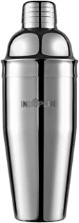 Cocktail Shaker, Martini Shaker Food Grade Stainless Steel, 25 Ounce(750ml) Drink Shaker, Professional Bar tools with Cock...