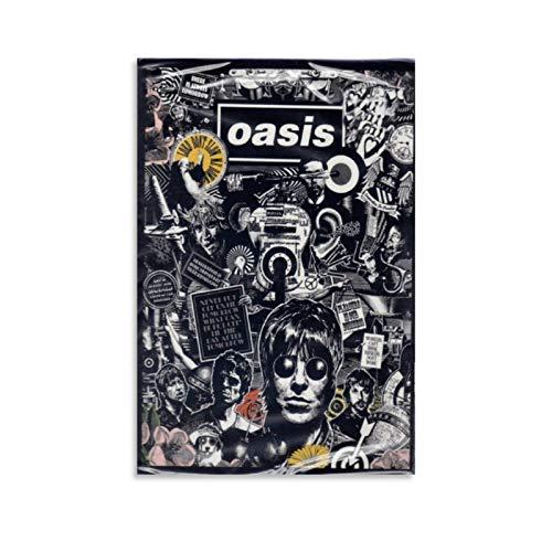 CHAOZHE Póster de la banda de rock británica de Oasis, Live at City