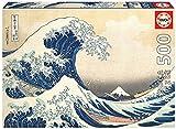 Educa 19002 Gran Ola de Kanagawa. Puzzle de 500 Piezas. Ref, Multicolor