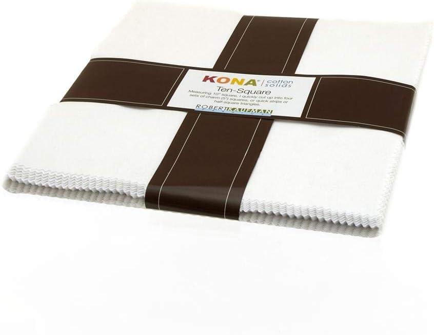 mart Kona Cotton White trend rank Ten Squares