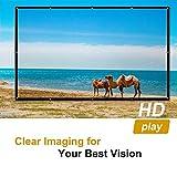 Zoom IMG-1 docooler schermo di proiezione portatile