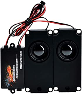 jrelecs Second Generation Cool Throttle Linkage Groups Engine Sound Simulator with 2 Speakers for RC Car (Double)