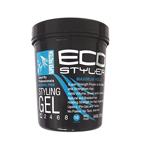 ecostyler Styling Gel Super Protein - Maximum Hold 32oz - 946 ML