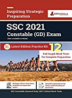 SSC Constable GD Exam 2021 12 Mock Test For Complete Preparation