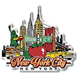 New York City Magnet by Classic Magnets, Collectible Souvenirs Made in The USA