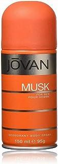 Jovan Black Musk by Jovan for Men -Deodorant Body Spray 5 Oz