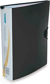 Rapesco 0905 Chemise de Présentation - Format A4 - Noire