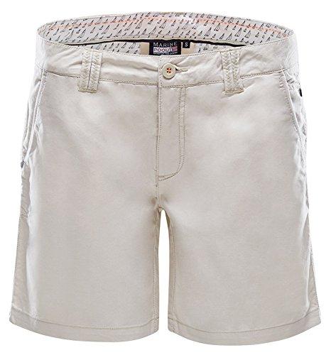 Marine Piscine Bermuda pour Femme Mila Taille XL Blanc - Blanc