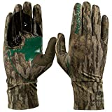 Mossy Oak Lightweight Hunting Gloves for Men, Turkey Hunting Gloves