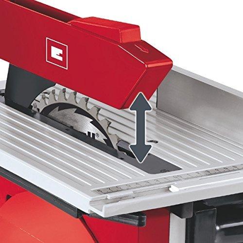 Einhell TH-MS 2513 T Ingletadora de doble corte, 1800 W, 230 V, tope transversal,7.8 A, rojo (ref. 4300345)