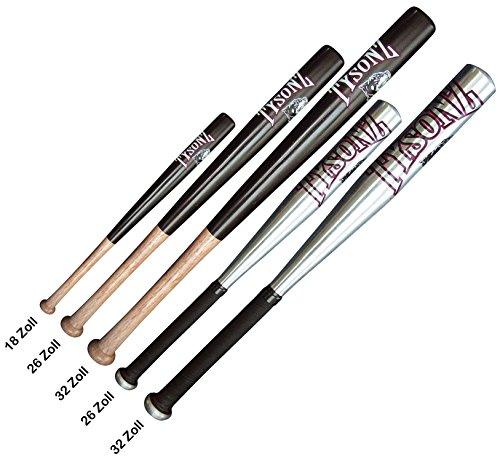 CN Outdoor Baseballschläger Holz/Alu Baseball Schläger Bat »Tysonz« 32 Zoll Alu