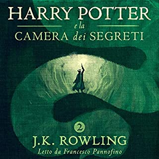 Harry Potter e la camera dei segreti (Harry Potter 2)                   Di:                                                                                                                                 J.K. Rowling                               Letto da:                                                                                                                                 Francesco Pannofino                      Durata:  10 ore e 23 min     2.910 recensioni     Totali 4,9
