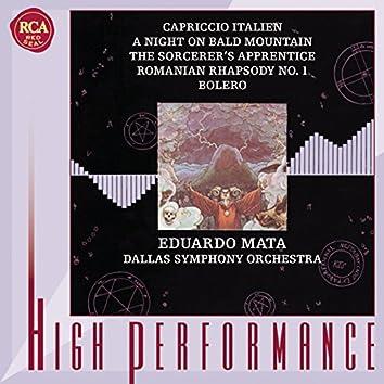 Tchaikovsky, Mussorgsky, Dukas, Enescu & Ravel: Orchestral Works