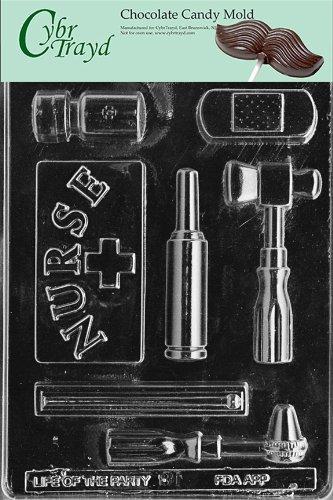 Cybrtrayd J081 verpleegsterkit met originele handleiding (mogelijk niet beschikbaar in het Nederlands), voor chocolade